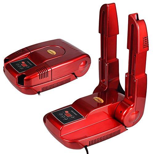 OTraki シューズ 乾燥機 伸縮 温風式 長靴も対応 靴乾燥機 オゾン 除菌 脱臭 除湿 智能予約 / タイマー機能 シューズドライヤー