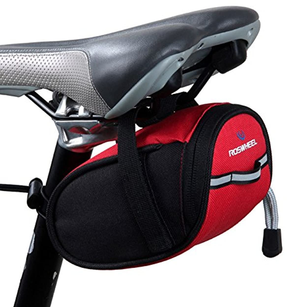 期限艦隊増加するサドルバッグ自転車シートパックサイクリングシートバッグ自転車ストラップオンサドルバッグ-A2