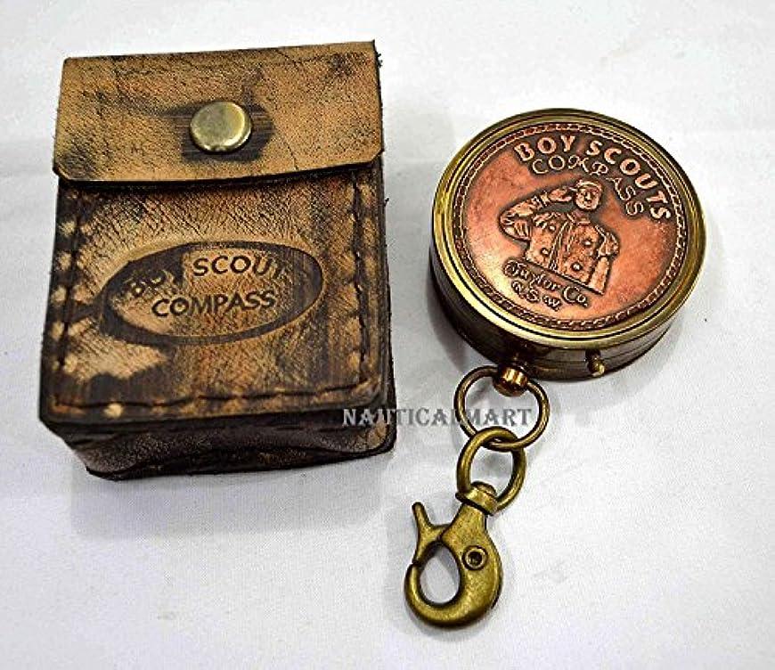 国際クリープ反論真鍮航海真鍮ポケットコンパスでギフトケースNAUTICALMART