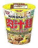 日清 AKIBA ヌードル 肉汁麺ススム監修 肉汁麺 134g×12個