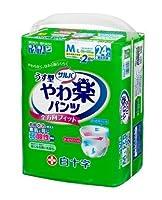 サルバ やわ楽パンツ M~L 24枚入 【ケース販売】 4袋/ケース