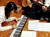 JX-SHOPPU くるくる巻けてコンパクト!持ち運びロールピアノ 61キー ロールピアノ コンパクトに巻いて収納も簡単