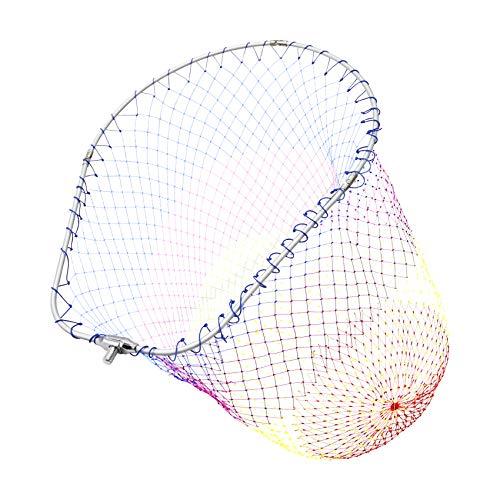 SANLIKE タモ網 アルミオーバルフレーム 大型たも網 折りたたみ玉枠 ランディングネット 玉網35/45/50cm