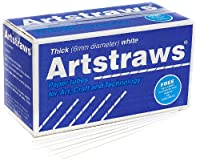Artstraws School Pack, Thick White (900)