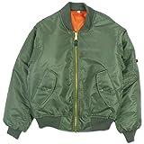 (ロスコ) ROTHCO MA-1 フライト ジャケット コート (L, OLIVE/オリーブ) [並行輸入品]