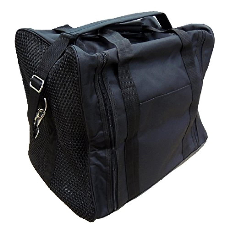 剣道 防具袋 ナイロン角型ボストン 3WAY防具袋 側面メッシュタイプ