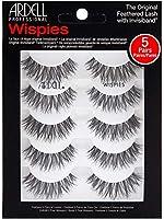 海外直送品Ardell 5 Pack Lashes - Wispies - 68984-3Packs