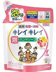 キレイキレイ 薬用泡ハンドソープ ミックスフルーツの香り 詰替 200ml