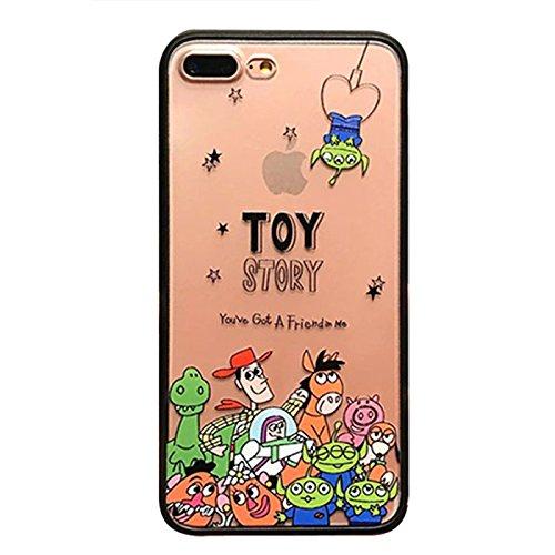 Disney Toy Story iPhone case 半透明ケース 6 6s,6Plus 6sPlus,7, 7Plus,8,8Plus ディズニー トイストーリー_B(6/6s)