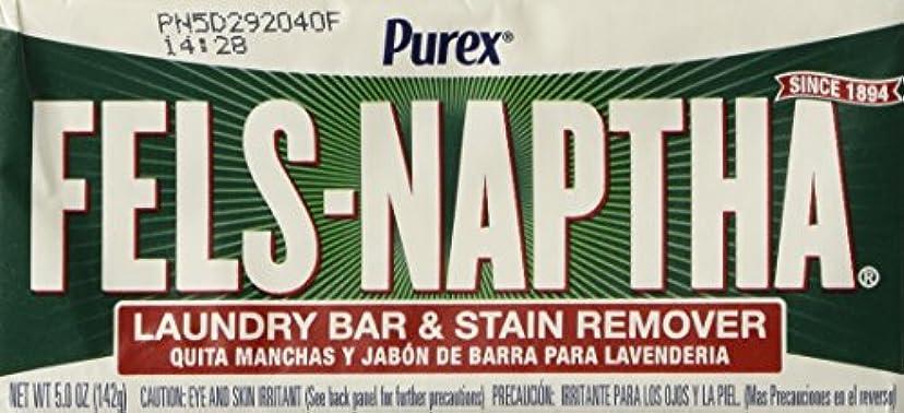 カカドゥ排除実行可能Fels Naptha Laundry Soap Bar & Stain Remover - 5.0 Oz per bar by Fels Naptha