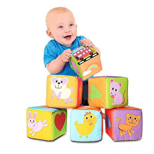 立体パズル ぬいぐるみ 布の積み木 知育玩具 想像力を育つ知育玩具 学習玩具 ブロック 幼児 子供 教育 出産...