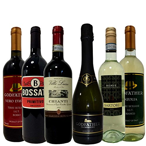 厳選ヴィネクシオセレクト イタリアワイン 楽しみ尽くし 豪華キャンティ入り 赤3本白3本 6本 ワインセット 750ml×6本