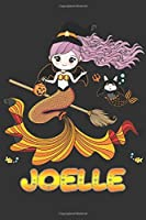 Joelle: Joelle Halloween Beautiful Mermaid Witch Want To Create An Emotional Moment For Joelle?, Show Joelle You Care With This Personal Custom Gift With Joelle's Very Own Planner Calendar Notebook Journal