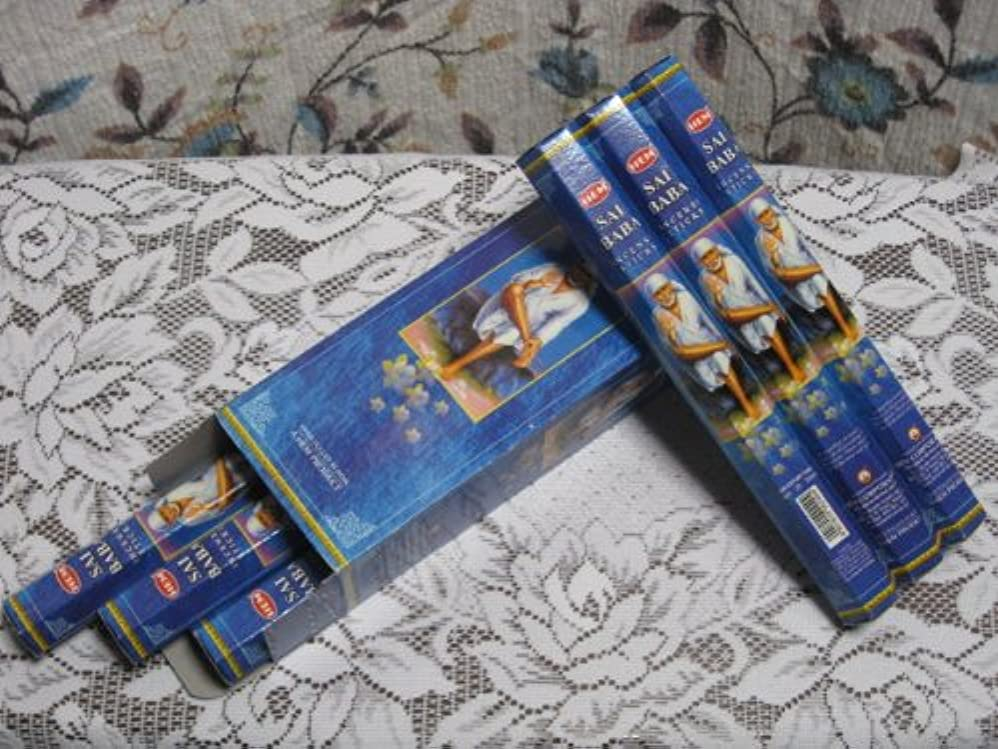 コンサート漁師についてHEM(??) ??????香 ?????????(HEXA????) 1箱6筒入 1筒≒20本入/INDIA INCENSE HEM SAIBABA 1BOX=6Packs 1Pack=20Sticks (※基本DM便配送...