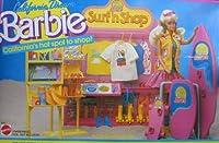 輸入バービー人形 California Dream BARBIE Surf 'n Shop 25+ Piece Playset (1987 Mattel Hawthorne) [並行輸入品]