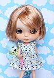 ラコステ 通販 (ドーリア)Dollia ブライス 1/6ドール用 アウトフィット パンダイラスト ワンピース ネオブライス ドール 人形 (イエロー)