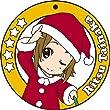 けいおん!! コースター型ラバーキーホルダー 田井中律
