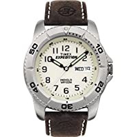 Timex Men's T46681 Year-Round Analog Quartz Brown Watch