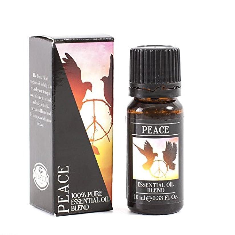 先見の明鼻巡礼者Mystic Moments   Peace Essential Oil Blend - 10ml - 100% Pure