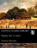 Poems, Vol. II; Italy
