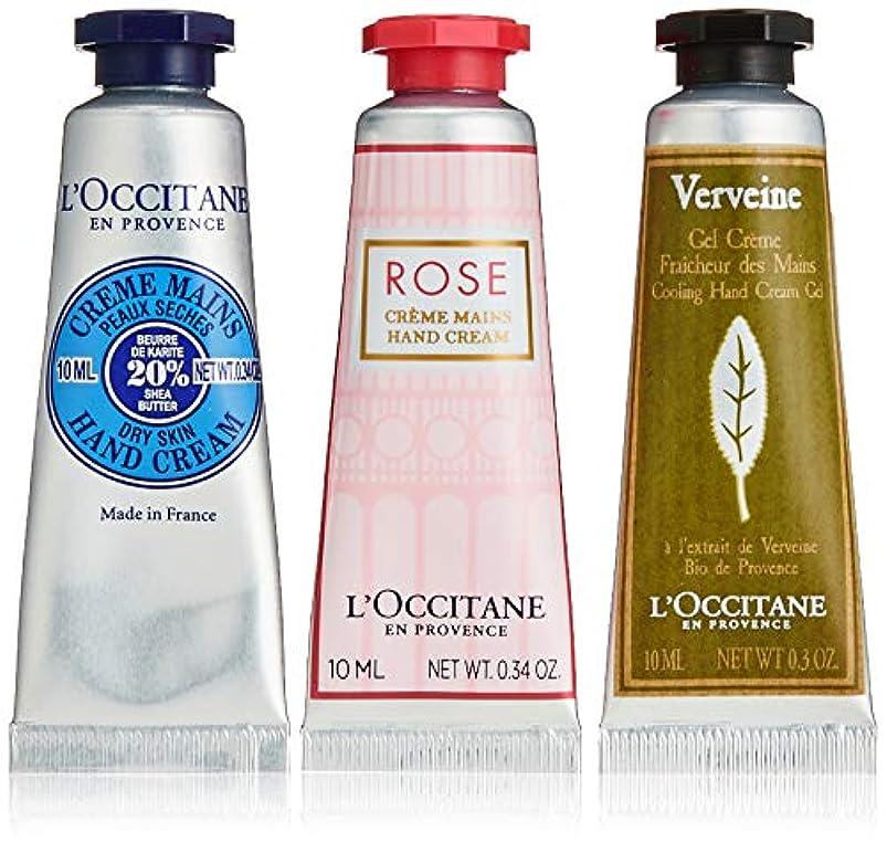 多様性面倒若い【Amazon.co.jp 限定】ロクシタン(L'OCCITANE) ミニハンドクリーム トリオ(シアハンドクリーム10ml、ハンドクリームローズ10ml、ヴァーベナアイスハンドクリーム10ml)