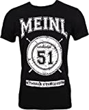 MEINL マイネル Tシャツ Collegeロゴ ブラック Sサイズ M34-S 【国内正規品】