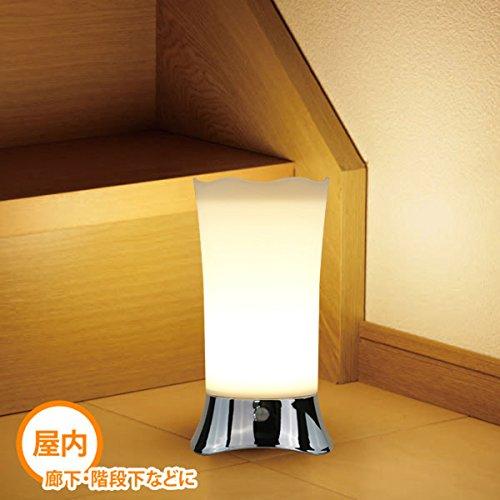 ZEEFO 人感&明暗センサー LED ナイト ライト 良い雰囲気 乾電池式 足元灯