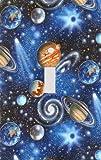 銀河惑星装飾スイッチプレートカバー