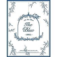エイプリル - The Blue (5th Mini Album) CD+Booklet+Photocard+Postcard [韓国盤]