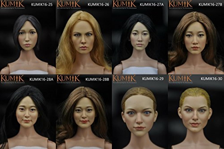 クミック 女性用ヘッド1/6 Artcreator_BM zy-kumik female head 16-27a
