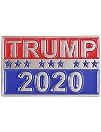 GuDeKe ドナルド?トランプ 大統領 2020年 エナメルピン