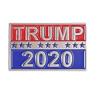 GuDeKe ドナルド・トランプ 大統領 2020年 エナメルピン
