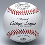 ミズノ 硬式野球ボール カレッジリーグ 高校試合球 1ダース/12個入り 1BJBH10300