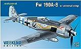 エデュアルド 1/72 ウィークエンドエディション ドイツ空軍 Fw190A-8 ユニバーサルウィング プラモデル EDU7443