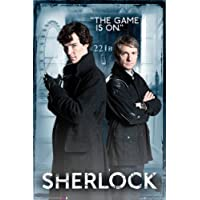 Sherlock Poster The game is on (61cm x 91,5cm)