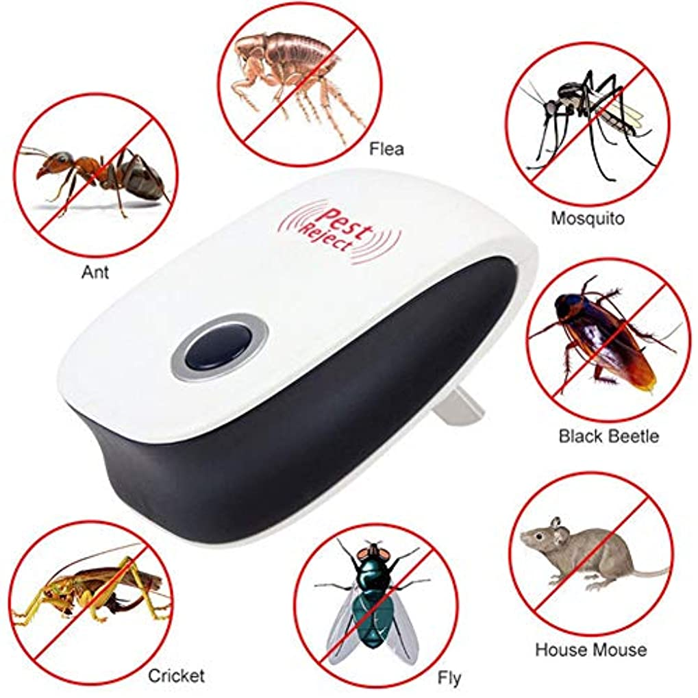 病気の空いている選出する電子超音波はね返る米国/EUのプラグ拒絶の蚊モグラの害虫は屋内磁気キラーを拒絶します