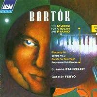 Bartok: Piano & Violin Vol.1