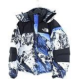 (シュプリーム)SUPREME ×ノースフェイス 【17AW】【The North Face Mountain Baltoro Jacket】総柄バルトロダウンダウンジャケット(S/ブルー調) 中古
