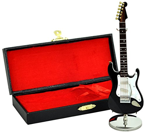 [해외]SUNRISE SOUND HOUSE 선 라이즈 사운드 하우스 미니어처 악기 GE34-15cm BK   일렉트릭 기타/SUNRISE SOUND HOUSE Sunrise Soundhouse Miniature instrument GE 34 - 15 cm BK   electric guitar