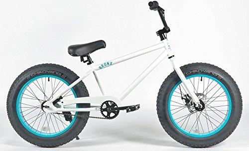 BRONX 20nch FAT-BIKES 【ブロンクス 20inchファットバイク】 COLOR:ホワイト×ターコイズブルーリム