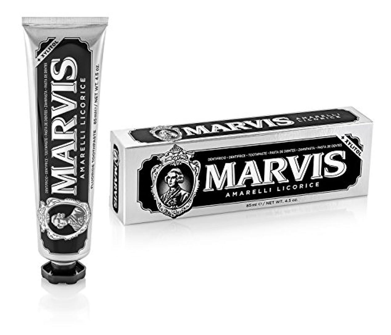 バンドル革命的受粉者マーヴィス Amarelli Licorice Toothpaste With Xylitol 85ml/4.5oz並行輸入品