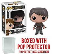 Funko Pop Game of Thrones: GOT - Arya Stark 09 Vinyl Figure (Bundled with Pop BOX PROTECTOR CASE)