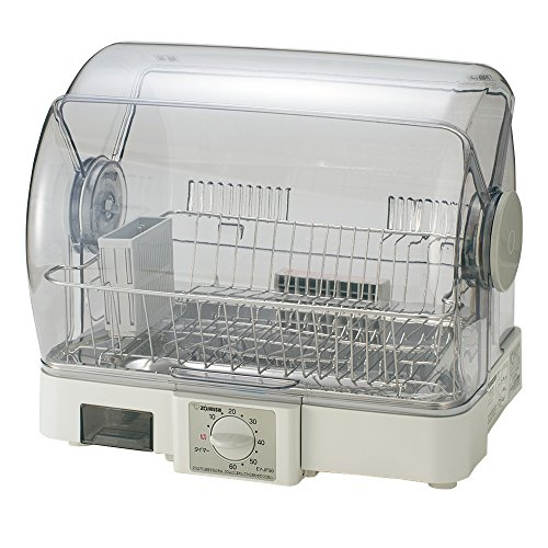 象印 食器乾燥機 80cmロング排水ホースつき EY-JF50-HA