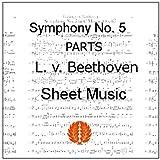 楽譜 pdf ベートーヴェン 交響曲第5番 運命 オーケストラ用全パート譜セット(全楽章)