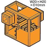 アーテックブロック部品 ハーフA 8ピース オレンジ