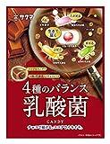 サクマ製菓 4種のバランス乳酸菌 65g×6袋