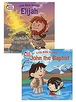 Elijah / John the Baptist: Flip Over Book (Little Bible Heroes)