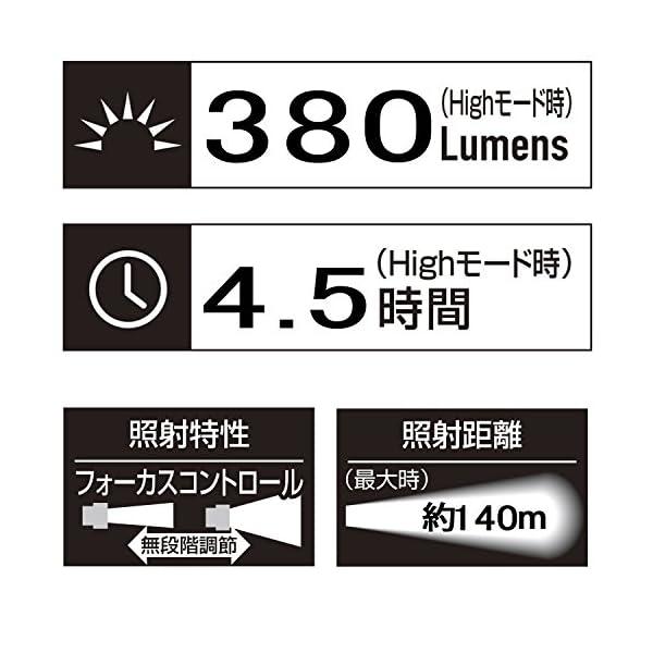 GENTOS(ジェントス) LED懐中電灯 閃...の紹介画像9