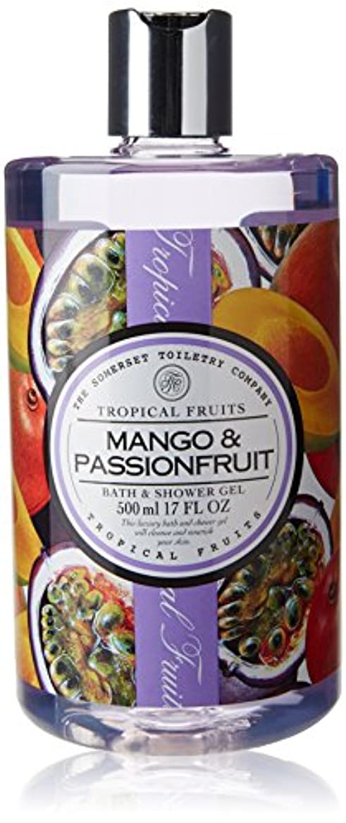 パニックまたはどちらか迅速Tropical Fruits Mango & Passionfruit Bath & Shower Gel 500ml