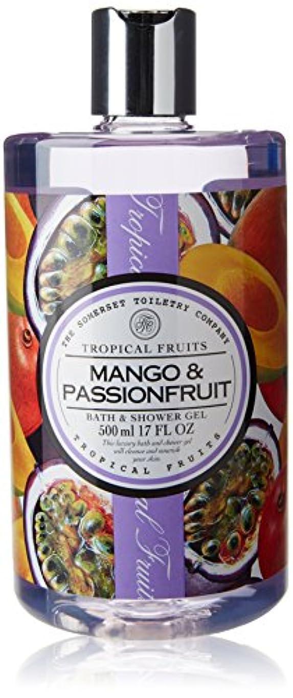 醸造所矛盾する液体Tropical Fruits Mango & Passionfruit Bath & Shower Gel 500ml